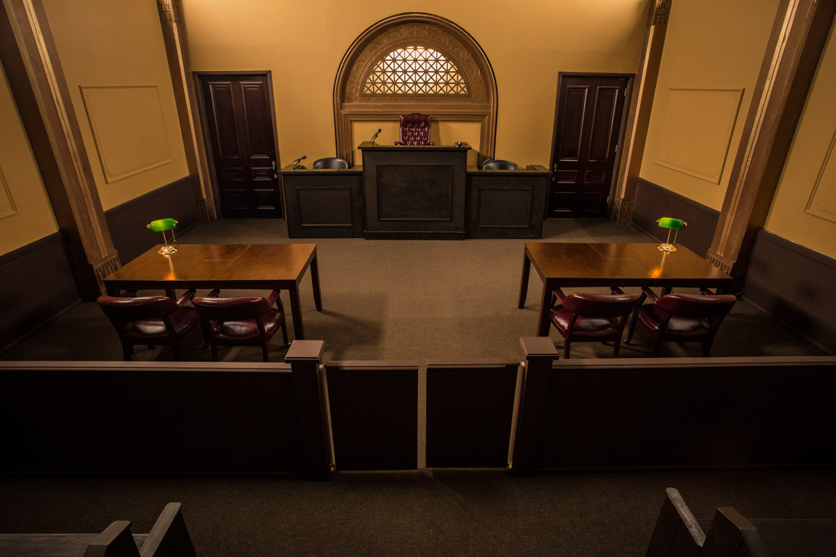 judges chambers for filming los angeles