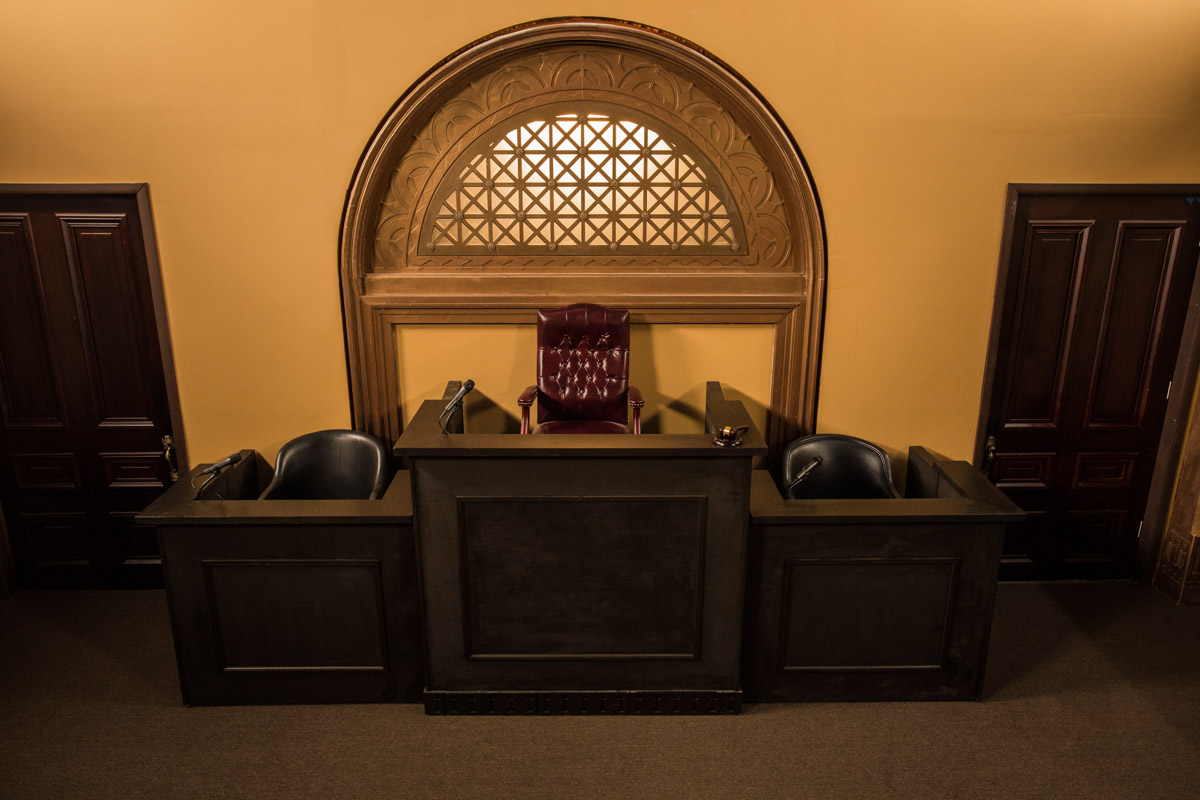 courtroom set los angeles