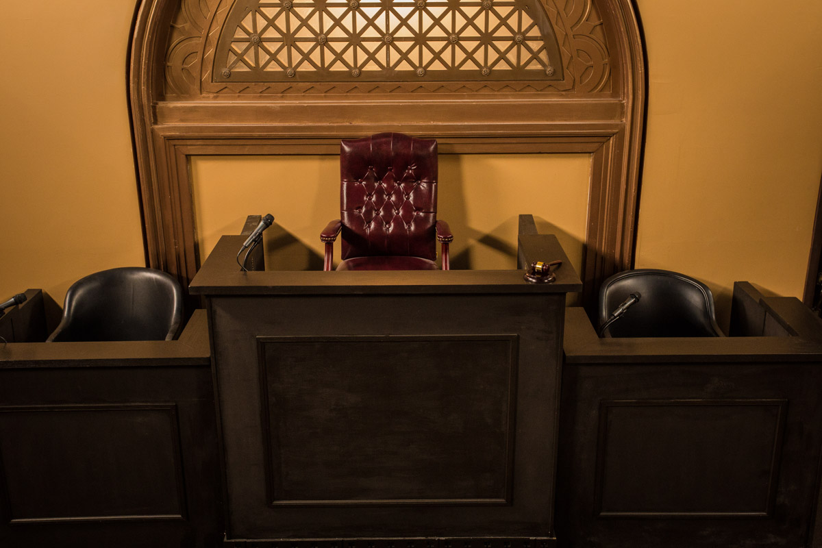 courtroom standing set los angeles